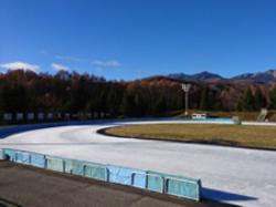 松原湖高原スケートセンター:アイスリンク